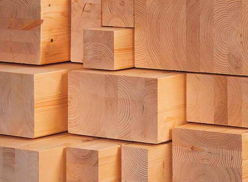 Materiali legnosi per l'edilizia
